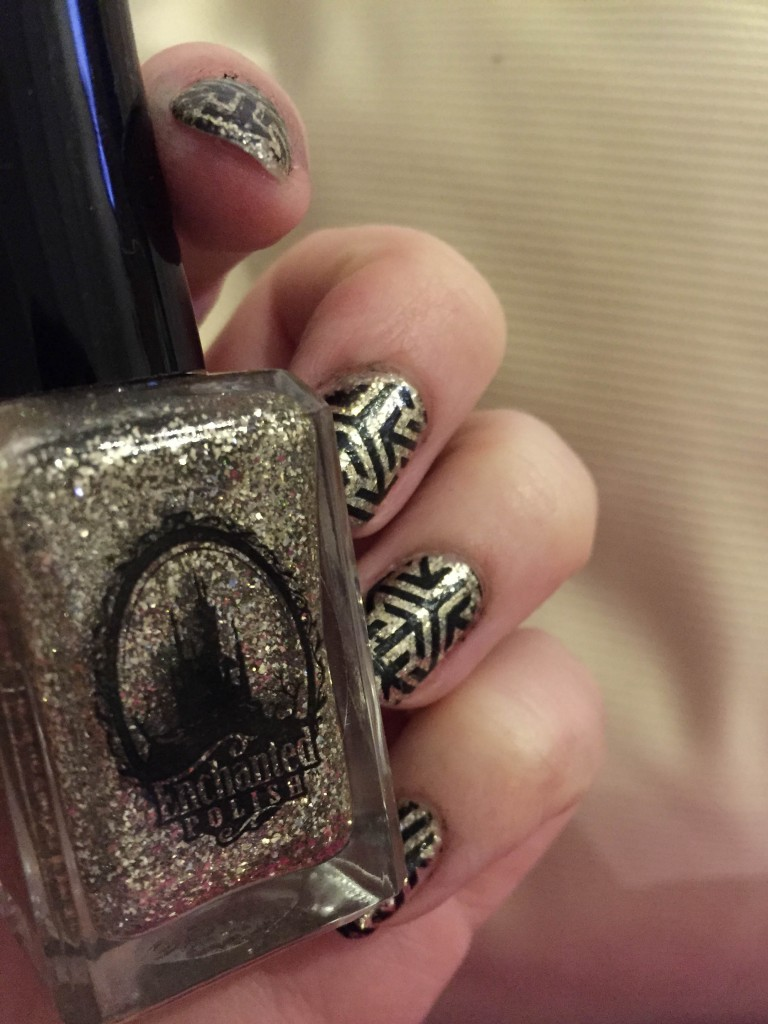 enchanted polish amazing stamping pueen