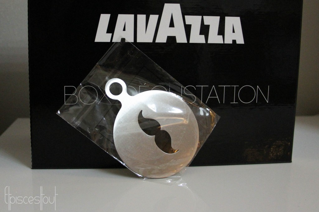 Lavazza moustache