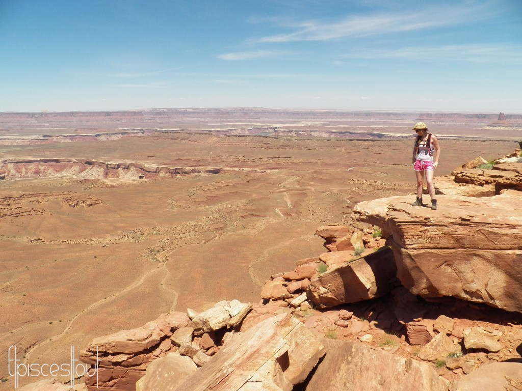 Canyonlands grand view point overlokk