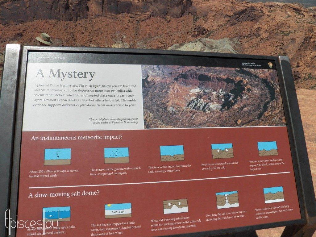 Canyonlands upheaval dome