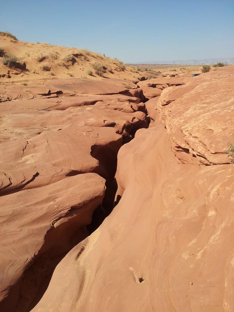 Entrée du Lower Antelope Canyon